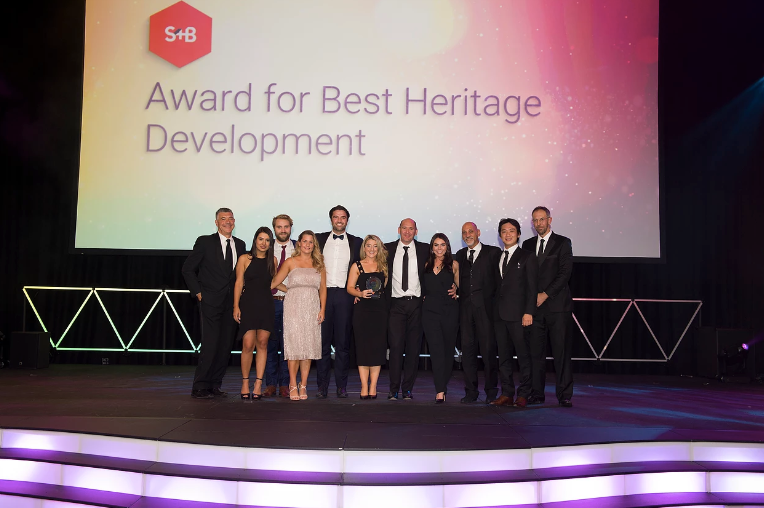 Award for best heritage development